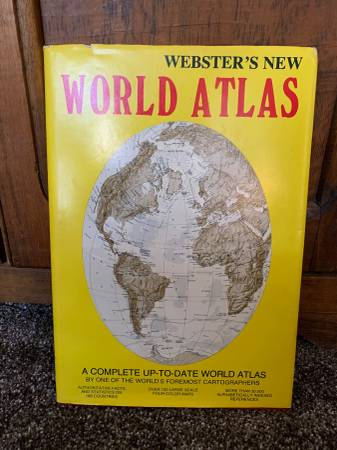 Photo Webster39s New World Atlas (1982 Hardback) Kimberlee Press - $9 (Shawnee)