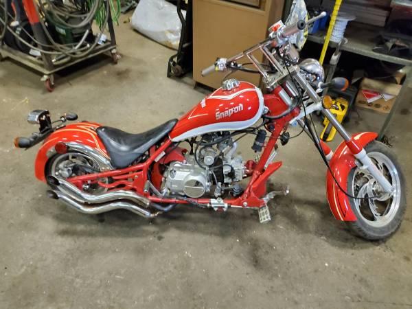 Photo 125cc mini chopper - $1,500 (Kenai)