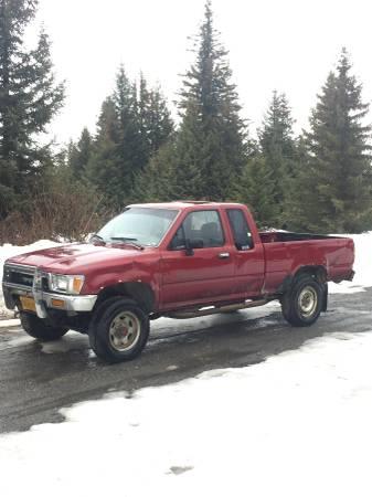 Photo 1990 Toyota V6 Truck - $3000 (Homer Ak, Dimond Ridge)
