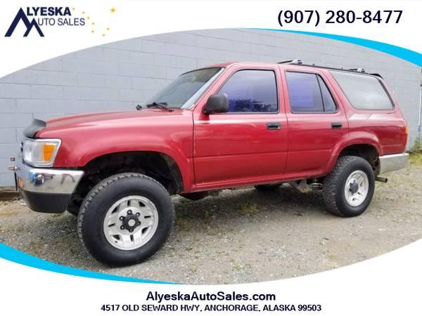 Photo 1993 Toyota 4Runner SR5 Sport Utility 4D - $4900.00 (Anchorage)