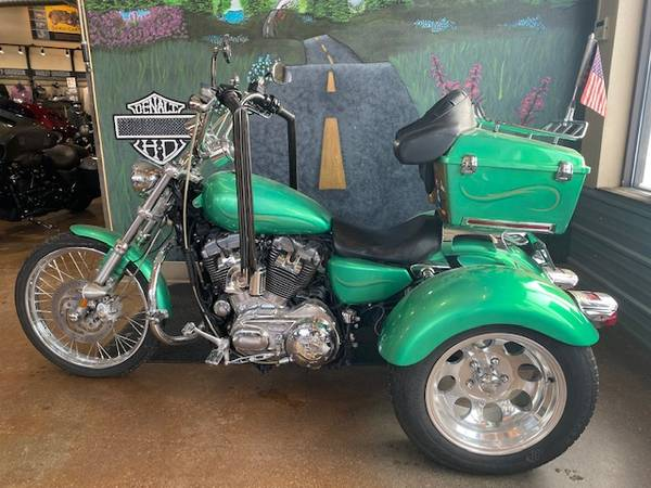 Photo 2009 Harley Davidson Sportster 883 Trike (438280) - $12,500