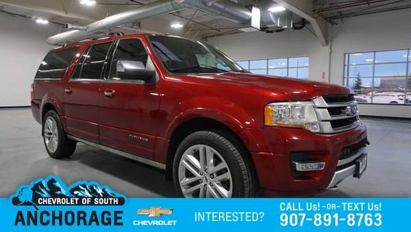 Photo 2017 Ford Expedition EL Platinum 4x4 - $39,988 (2017 Ford Expedition EL Platinum 4x4)