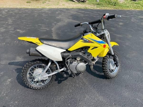 Photo 2018 Suzuki DR-Z 70 Dirt Bike - $2,900 (Wasilla)