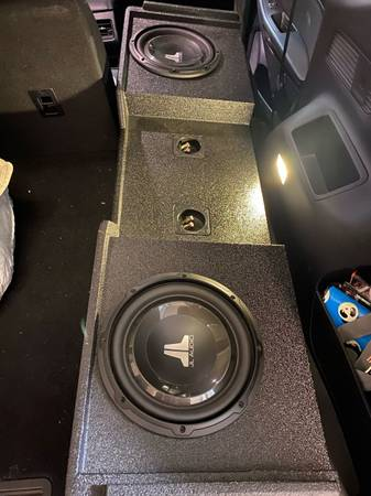 Photo 2 10 JL Audio Subs in Box - $500