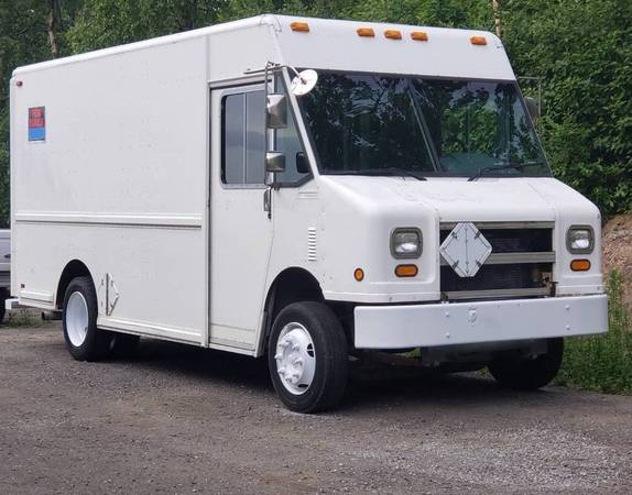 Photo 97 Freightliner MT-45 Utilimaster 1439 Step Van - $13,500 (South Anchorage)
