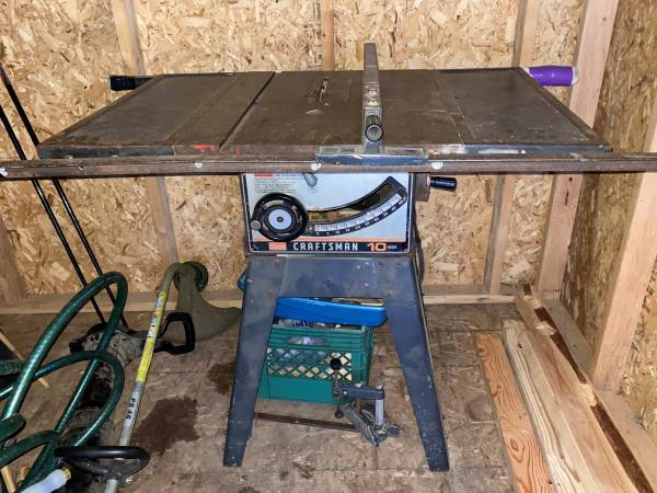 Photo Craftsman Table Saw - $150 (Anchorage)