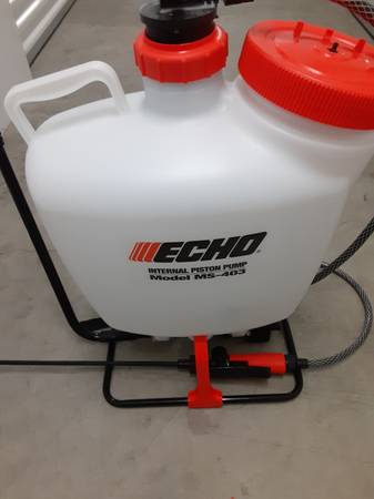 Photo Echo Backpack Commercial 4 Gallon Sprayer - $60 (South Anchorage)