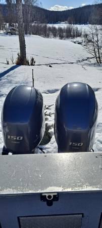 Photo F150 yamaha outboards - $15,000 (Kenai)