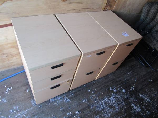 Photo Filing cabinets total of 2 on casters......great shape and heavy duty. - $50 (Anchorage)