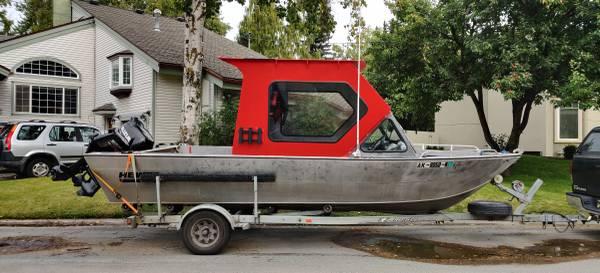 Photo Hewescraft SeaRunner with 140hp Suzuki and kicker - $29,800 (Anchorage)