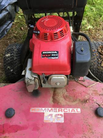 Photo Honda Commercial 48 mower - $900 (Homer)