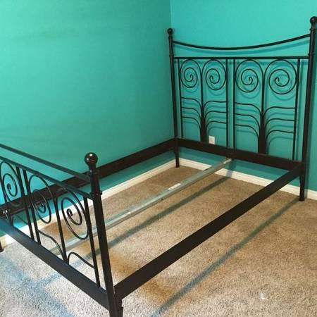 Ikea Noresund Queen Size Bed Frame 150 Soldotna K Beach Furniture For Sale Kenai Ak Shoppok