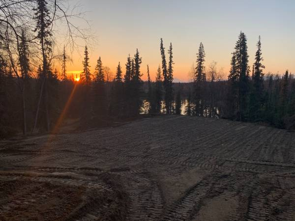 Photo Lakefront property 6.85 acres Fronts 2 lakes Redoubt Mountain View (Soldotna)