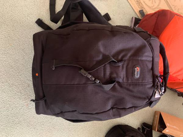 Photo Lowepro backpack - $45 (Northern lights)