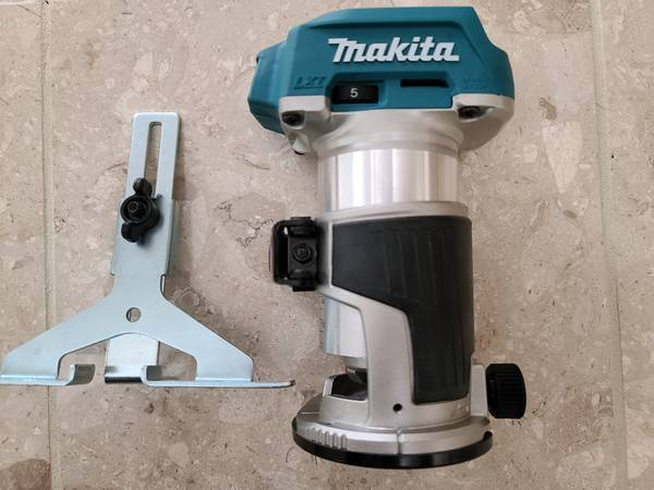 Photo Makita 18v Brushless LXT Router - $100 (South Anchorage)