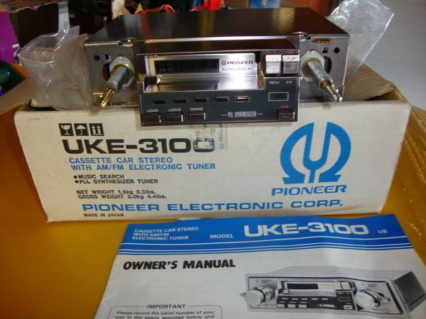 Photo New Pioneer Car stereo Cassette DeckAMFM - $100 (Anchorage)