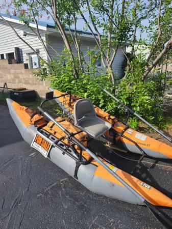 Photo Pontoon boat for sale - $400 (Soldotna)