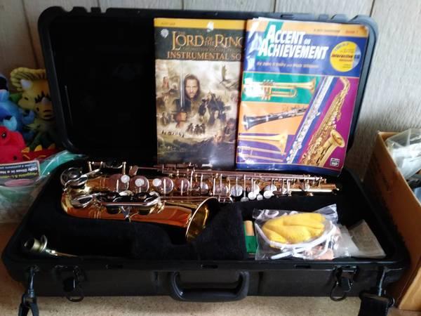 Photo Selmer Alto Saxophone AS300 - $600 (Kenai Alaska)