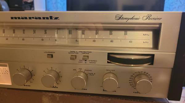 Photo Vintage Marantz Stereo  Paradigm Speakers - $300 (Wasilla)
