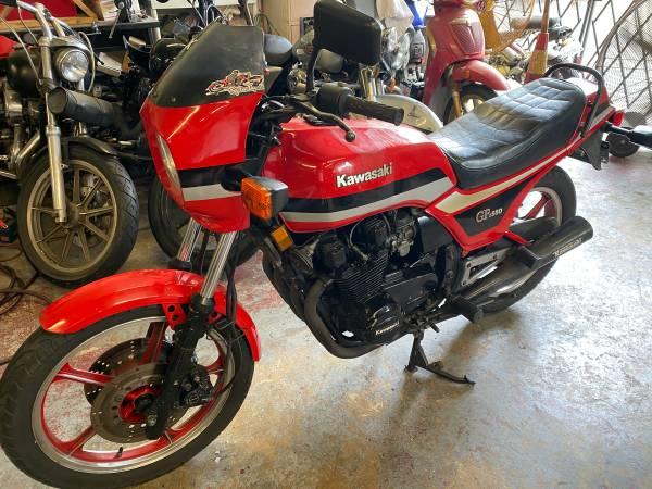 Photo 1983 Kawasaki GPZ 550 Classic - $2,500 (Delray Beach)