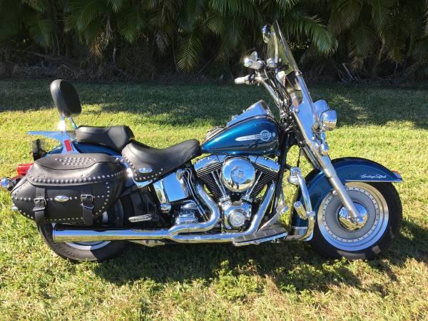 Photo 2002 Harley Heritage Softail FI - $5,500 (Plantation)