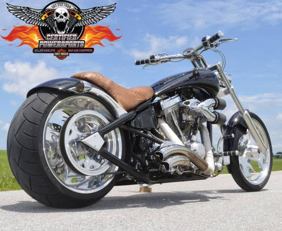 Photo 2007 AMERICAN IRONHORSE TEJAS SJ PRO STREET 280 CHOPPER, 2,851 Mi - $12,995 (Mint Condition. 117ci V-Twin WPB)