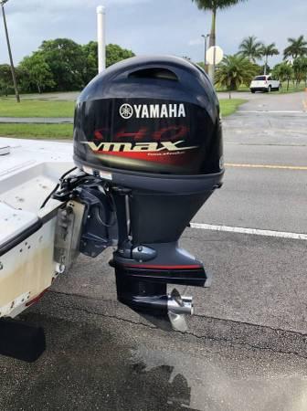 Photo 2019 Yamaha 90 HP SHO VMAX - $8,500 (Homestead (30 Min From Key Largo))