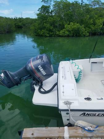 Photo 2239 Angler center console - $9,000 (Key West)