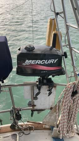 Photo 5 hp two-stroke 2003 Mercury outboard - $600 (Marathon Shores)