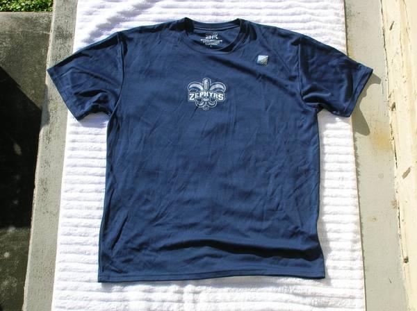 Photo Bimm Ridder Sportswear New Orleans Zephyrs Baseball Short Sleeve Shirt - $60 (Plantation)