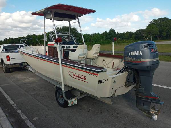 Photo Boston Whaler Outrage - 2008 Yamaha 150 OX66 - Aluminum Trailer - $14,000 (Homestead (30 min from Key Largo))