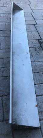 Photo Commercial Stainless Steel Shelf (super heavy duty) (Fort Myers)