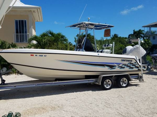 Photo Contender 23-ft open center console Trend 2005 Yamaha F150 four stroke - $32500