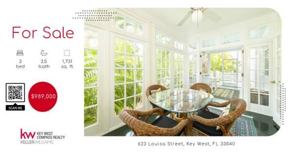 Photo FOR SALE - 623 Louisa Street (Key West)