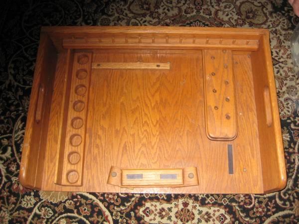 Photo Fly Tying Bench, vise, tools and materials - $75 (Cudjoe Gardens)