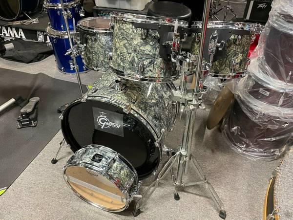 Photo Gretsch Black Hawk 5 Piece Pro Drum Set .. RARE - $780 (DEERFIELD BEACH FLORIDA)