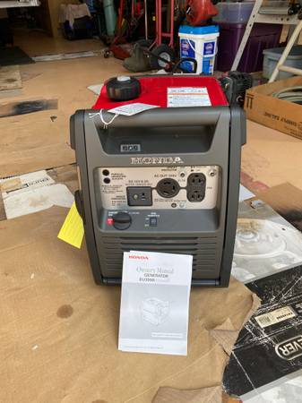 Photo Honda , generator, 3000I , brand new , never used - $2,150 (Naples. Fl)