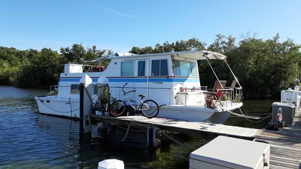 Photo Houseboat for sale - $19,500 (Florida Keys)