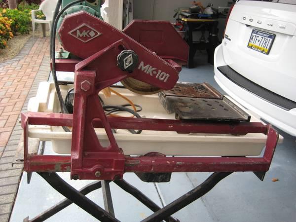 Photo MK-101 10 inch diameter tile saw - $400 (Cudjoe Gardens)