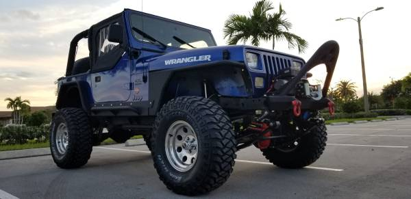 Photo TRADE 1991 JEEP WRANGLER ALL DONE - $15 (Pembroke pines)