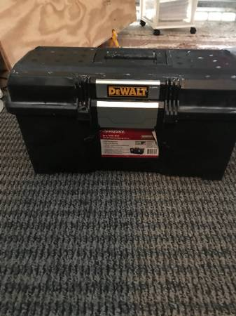 Photo Tool Box with assorted tools - $150 (Margate)