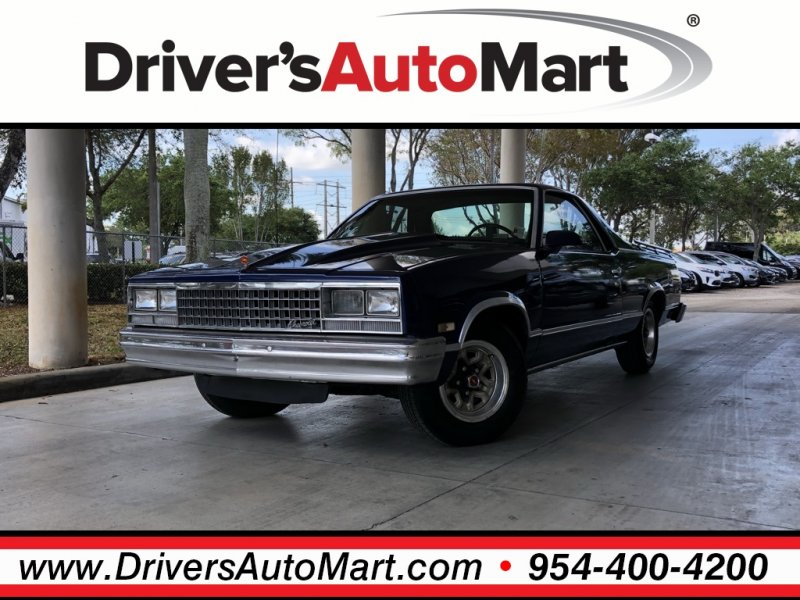 Photo Used 1987 Chevrolet El Camino  for sale