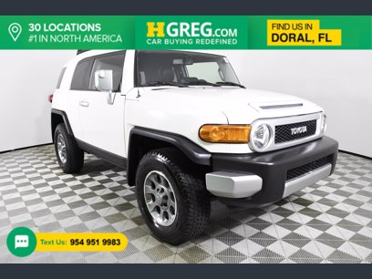 Photo Used 2012 Toyota FJ Cruiser 4WD for sale