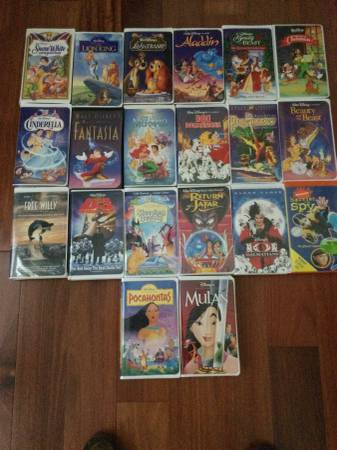 Photo WALT DISNEY Home VIDEO BLACK DIAMOND THE CLASSICS VHS LOT - $100 (Naples)