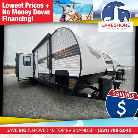 Photo Wildwood 27RE Travel Trailer - AVAILABLE NOW CALL (616)566-0909 TODAY - $31,519