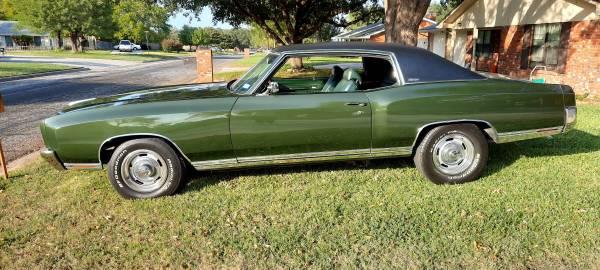 Photo 1970 Chevy Monte Carlo - $20,000 (Killeen)