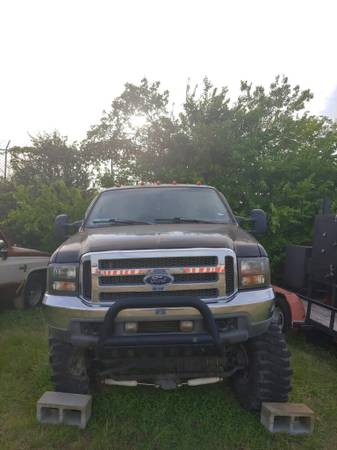 Photo 2001 Ford F250 Super Duty Lariat V10 Lifted (Project Truck) - $5500 (Killeen)
