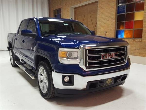 Photo 2014 GMC Sierra 1500 SLE - truck - $23500 (GMC Sierra_ 1500 Cobalt Blue Metallic)