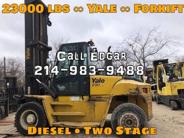 Photo 2014 Yale Forklift Two Stage (DALLAS)