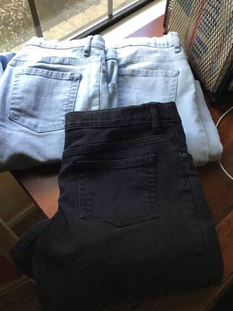 Photo 3 pair girls size 14 super skinny jeans from The Childrens Place - $10 (Killeen)